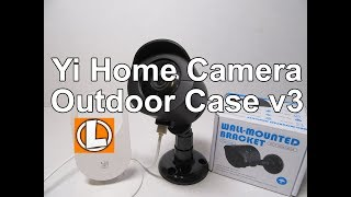 Enclosure for Xiaoyi IP camera with IR  Outdoor weather proof case