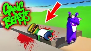 Download MURDER THAT BURGER!! Funniest Fighting Game Ever - GANG BEASTS (Funny Moments) Video