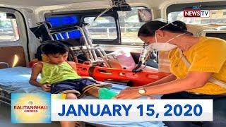 Download Balitanghali Express: January 15, 2020 [HD] Video