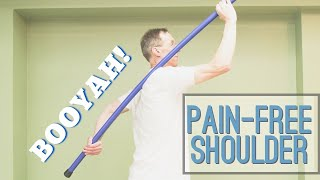 Download Two 60 Second Exercises That Took AWAY My Shoulder Pain in 2 Weeks (Impingement) Video