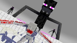 Download SCP-096 VS ENDERMAN PART 2 Epic Fight Animation Video