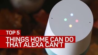 Download Top 5 things Google Home can do that Amazon's Alexa can't Video