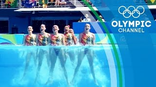 Download The camera technology bringing Synchronised Swimming to another level | The Tech Race Video