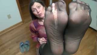 Download smelly black nylon soles mmmm Video