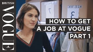 Download How to get into Fashion Journalism with Alexa Chung | Future of Fashion | British Vogue Video