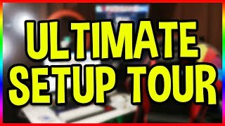 Download My ULTIMATE Streaming & Gaming Setup Tour! 2018 Update! Video