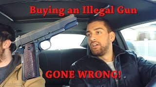 Download ILLEGAL GUN in New York (GONE WRONG) Social Experiment Video