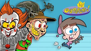 Download Horror Characters in the Fairly OddParents Style Video