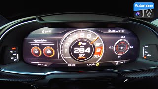 Download 2017 Audi R8 V10 PLUS (610hp) - 0-290 km/h acceleration (60FPS) Video