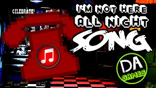 Download FIVE NIGHTS AT FREDDY'S SONG (Not Here All Night) LYRIC VIDEO - DAGames Video