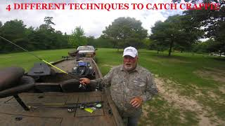 Download HOW TO CATCH CRAPPIE 4 SUMMERTIME TECHNIQUES Video