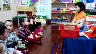 Download Tiết học phân biệt To Nhỏ Lớp Nhà trẻ3 Video