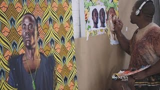 Download Kehinde Wiley Reimagines Classic Art | ABC News Video