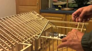 Download Time laps 3000 Popsicle Sticks, 100 Hours, 1 Guy, 1 House Video