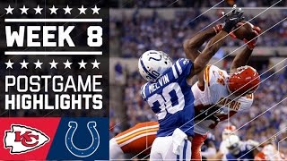 Download Chiefs vs. Colts | NFL Week 8 Game Highlights Video