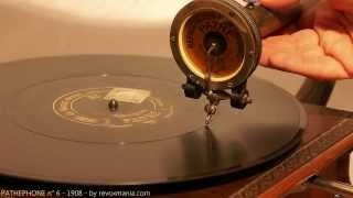 Download Gramophone PATHEPHONE n° 6 - 1908-1909 Video
