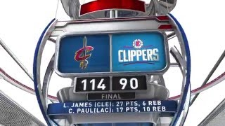 Download Cleveland Cavaliers vs Los Angeles Clippers - March 13, 2016 Video