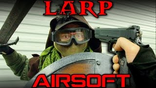 Download AIRSOFT vs LARP - Time Travel Survival Game Video