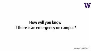 Download UW Alert Video