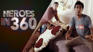 Download Heroes in 360 Video