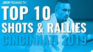 Download TOP 10 BEST SHOTS AND RALLIES | CINCINNATI 2019 Video