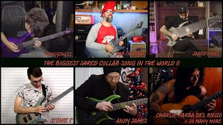 Download the biggest shred collab song in the world II (2018) Video