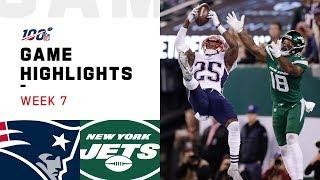 Download Patriots vs. Jets Week 7 Highlights | NFL 2019 Video