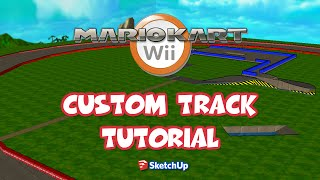 Download How To Make A Mario Kart Wii Custom Track With SketchUp + Misc Tools in 11 Minutes Video