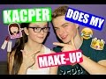 Download KACPER DOES MY MAKE-UP! :O Video