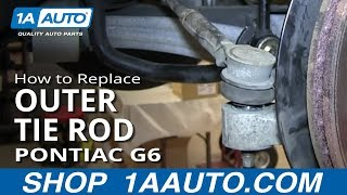 Download How To Install Replace Front Steering Outer Tie Rod Pontiac G6 Saturn Aura Video