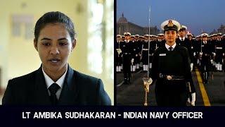 Download Meet Lt Ambika Sudhakaran- Republic Day Parade Contingent Officer of Indian Navy Video