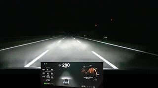 Download Driving Model X 200 km/h, 125 mph for over 100 km/60 mi Video