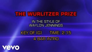 Download Waylon Jennings - The Wurlitzer Prize (I Don't Want To Get Over You) (Karaoke) Video