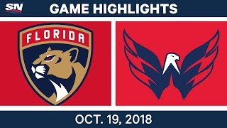 Download NHL Highlights | Panthers vs. Capitals - Oct. 19, 2018 Video