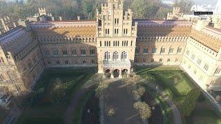 Download Чернівецький національний університет в 4K з висоти пташиного польоту Video