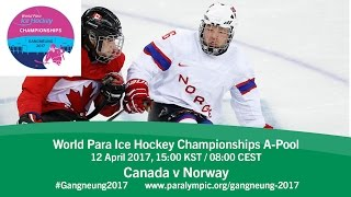 Download Canada v Norway | Prelim | 2017 World Para Ice Hockey Championships A-Pool, Gangneung Video