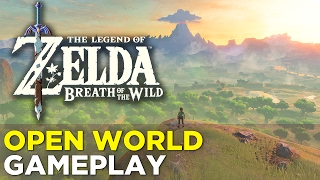 Download The Legend of Zelda: Breath of the Wild — NEW GAMEPLAY! 14 Minutes of OPEN WORLD Gameplay! Video