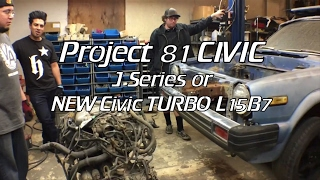 Download 81 Civic Pt. 4- J Series or L15B7 Turbo? Video