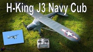 Download RC Review: H-King J3 Navy Cub Plane Video