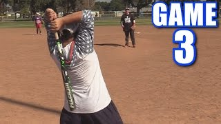 Download WEIRDEST SWING EVER!   Offseason Softball League   Game 3 Video