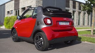 Download 2017 Smart Fortwo Cabrio Electric Drive - Red Video