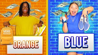Download I'll BUY ANYTHING IN YOUR COLOR CHALLENGE FOR 24 HOURS! Video