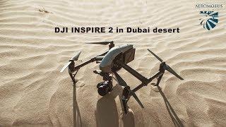 Download DJI INSPIRE 2 in Dubai desert Video