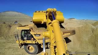 Download CAT 992G loader, inside & outside view Video