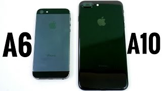 Download iPhone 5 vs iPhone 7 Plus? (A6 vs A10) Video