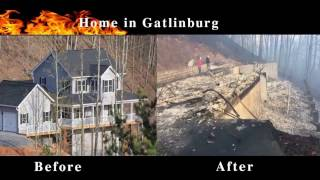 Download Gatlinburg Fire Before and After fire Video