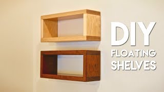 Download How To Build DIY Floating Shelf with Invisible Hardware Video