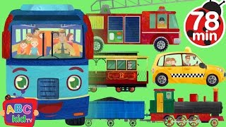 Download Wheels on the Bus and Vehicles | +More Nursery Rhymes & Kids Songs - CoCoMelon Video