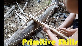 Download Primitive Technology: Make a Crossbow Primitive Video