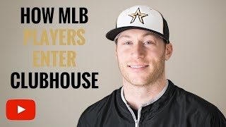 Download How MLB Players Enter Clubhouse Video